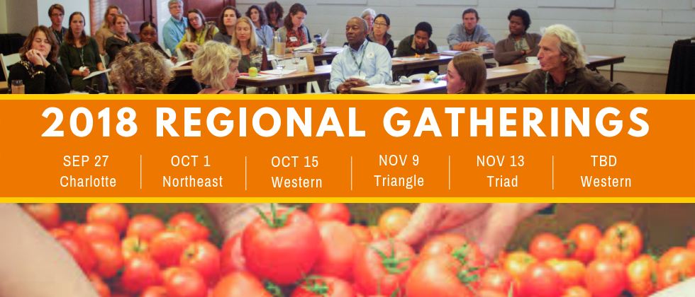 2018 Regional Gatherings for Food Councils
