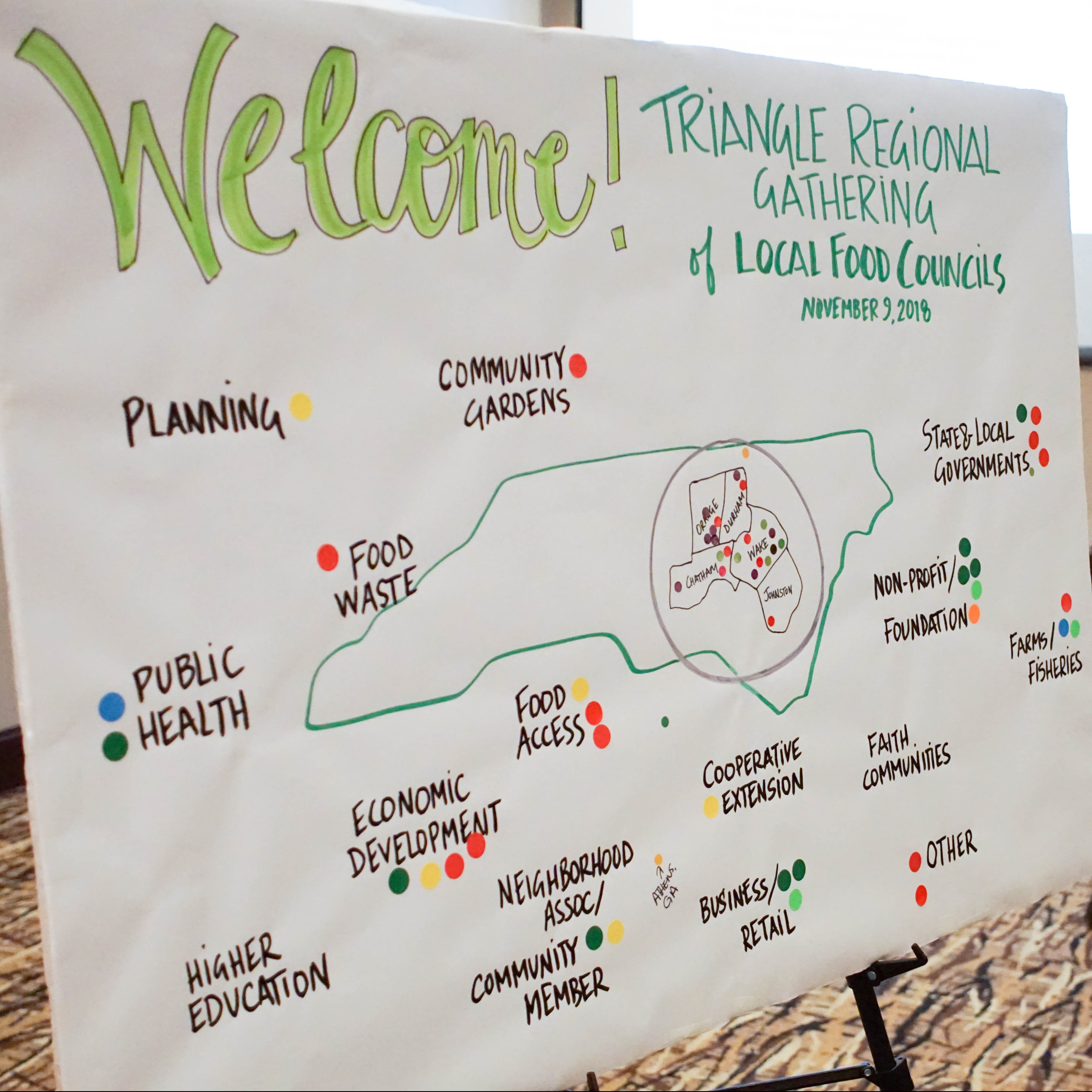 Coming Together: Food Councils in the Triangle