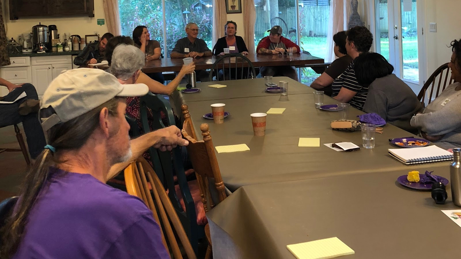 Farmers and food entrepreneurs in Chatham County come together for a focus group to discuss local policy needs.
